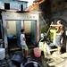 Satu dari sedikit air umum. : One of few public WCs in Sankrah. Photo by Ardian