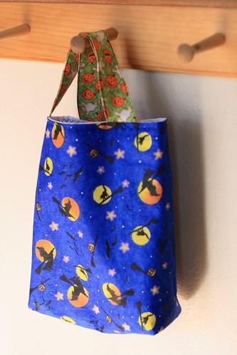 helen's trick-or-treat bag