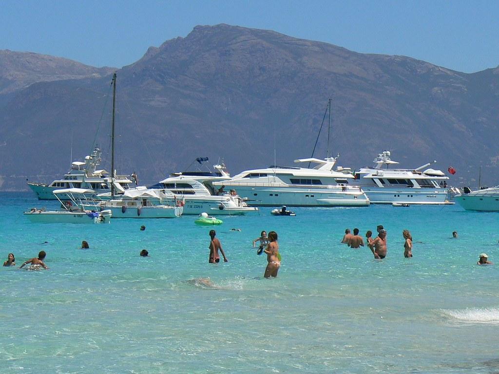 Пляж лотю plage de lotu о корсика франция