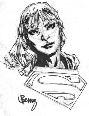 Caitlin Fairchild (as Gen13) as Supergirl by Lee Bermejo (Wizard World Chicago 2001)