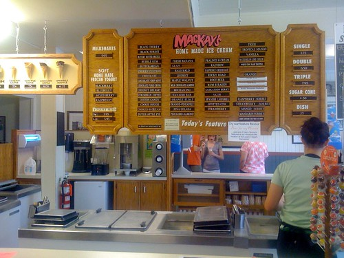 Calgary Eats: MacKay's Ice Cream In Cochrane