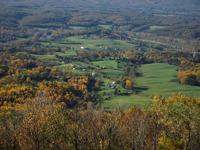 Skyline Drive - View of Shenandoah Valley