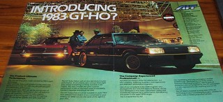 1983 Ford XE Falcon GT-HO Turbo - AIT Ad