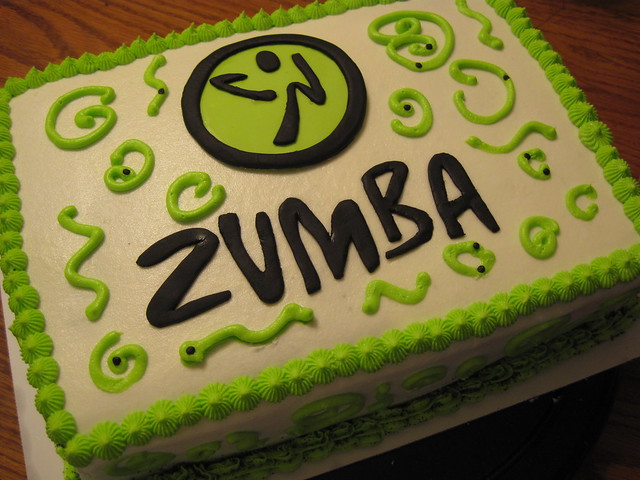 Zumba Birthday Cake http://www.flickr.com/photos/48604458@N06/5181911970/