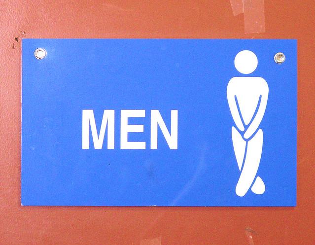 Imagenes De Baño De Hombres:Bano Fuera De Servicio Sign