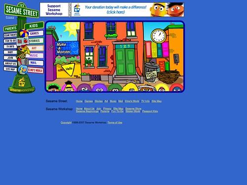 Sesame Workshop - Sesame Street (20070704) | Flickr ...