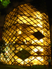 window(0.0), glass(0.0), lantern(0.0), stained glass(0.0), symmetry(1.0), yellow(1.0), sunlight(1.0), light(1.0), lighting(1.0),