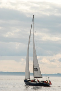 Sailing in Puget Sound