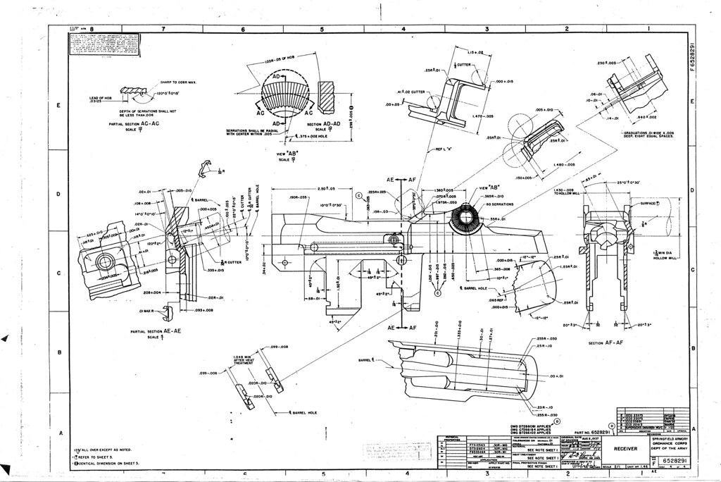 Ar 15 blueprints pdf bing images for Arkansas blueprint