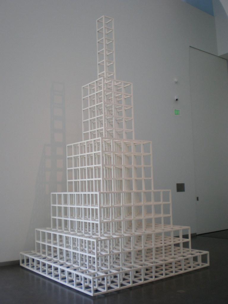 Sol LeWitt 1994 '1 3 5 7 9 11', Nelson-Atkins Museum of Art, Kansas City, Missouri