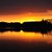 Solnedgang Sorø Sø - 2 by Martin Nikolaj