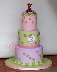Tinkerbell Inspired Puppy Cake...  (aka... Happy Birthday Livie!!)