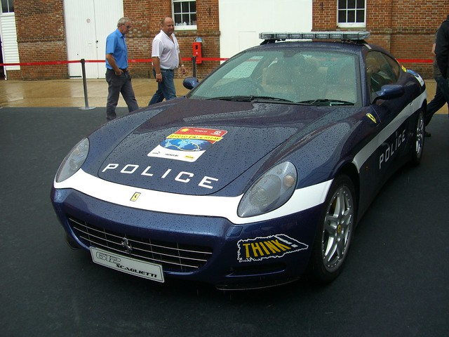 The gallery for \u0026gt; Ferrari Police Car