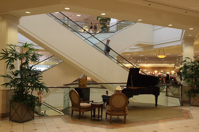 Piano in Nordstrom, Scottsdale Fashion Square