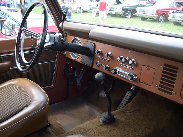 Vintage Ford Bronco Suv Interior Flickr Photo Sharing