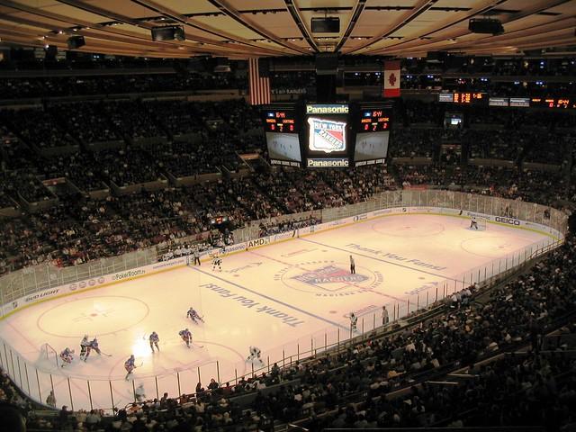 Madison Square Garden New York Rangers Flickr Photo