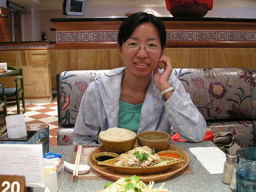 文華酒店的海南雞飯