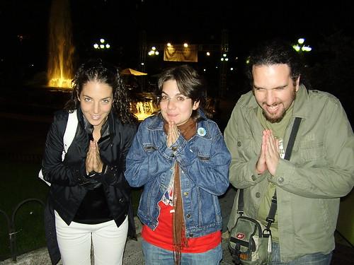 Fin de semana en Madrid con Silvia y Elena Septiembre 2007