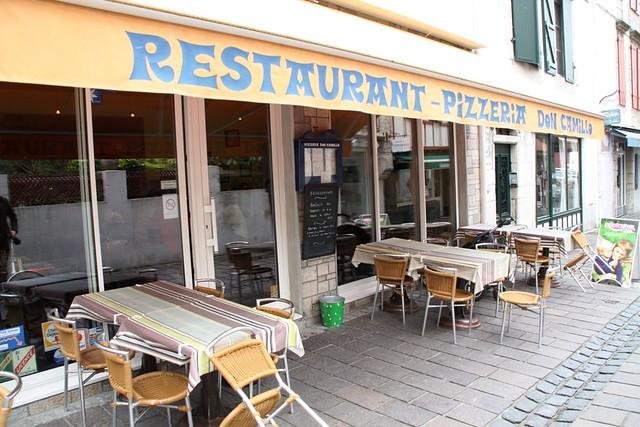 Fachada de la Pizzeria Don Camilo
