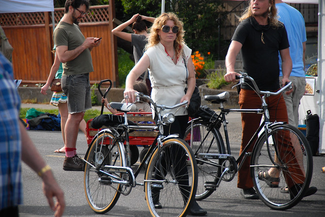 Even more than men, women use bikes for more than just the commute trip.