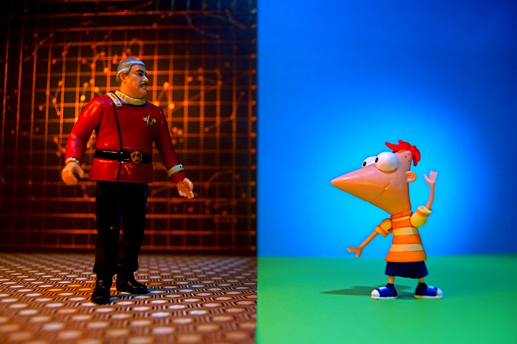 Montgomery Scott vs. Phineas Flynn (175/365)