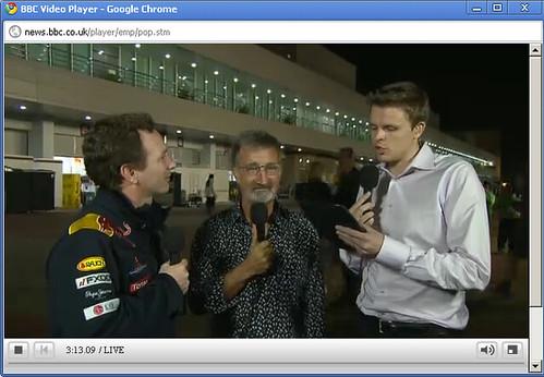 햄프리 (BBC F1 진행자..