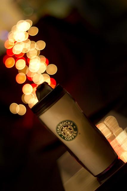 Bokeh coffee por Romain C