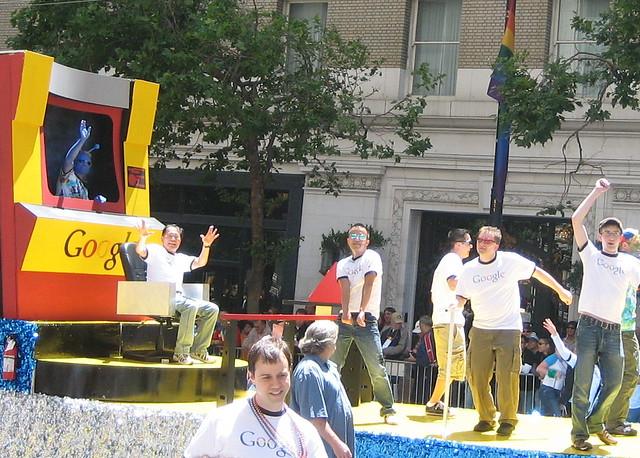 Gay Search Engine. George Takei on the bridge of the Starship Rainbow