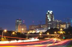 Raleigh Skyline at Night