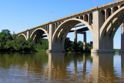BRIDGE K109: Morris Goodkind Bridge over the Raritan River, New Jersey by jag9889