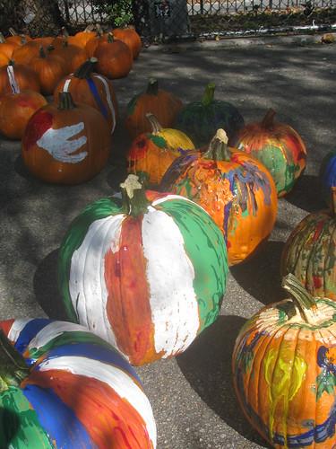 Painting pumpkins, Painted Pumpkins II