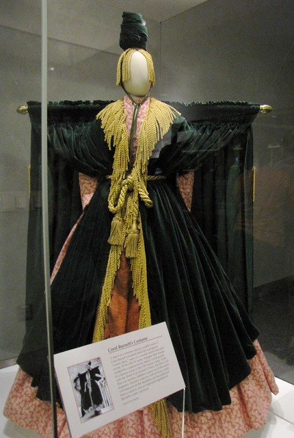 Carol Burnett's Velvet Curtain Dress! | Flickr - Photo Sharing!