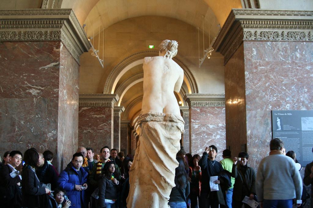 Venus de Milo Louvre Paris France