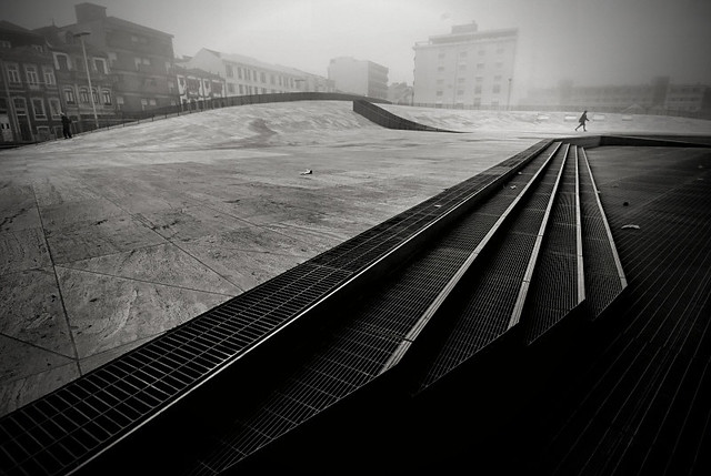 Open space - Minimalism in Street Photography