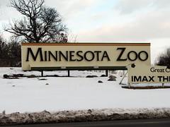 Minnesota Zoo: Sign