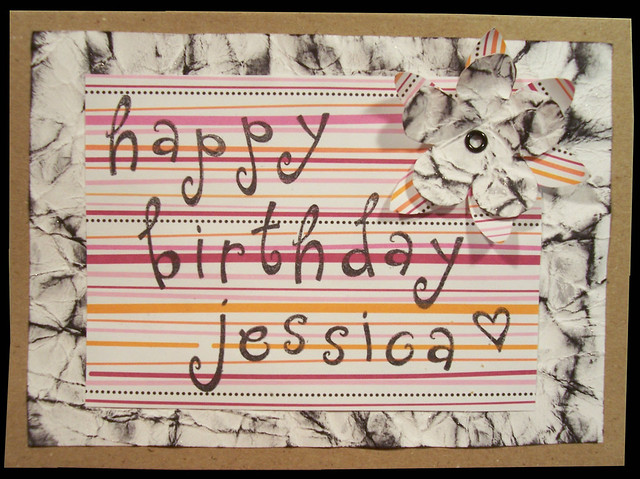This Is A Birthday Card For A