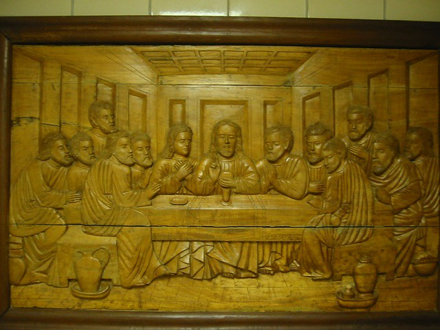 Last supper carving flickr photo sharing