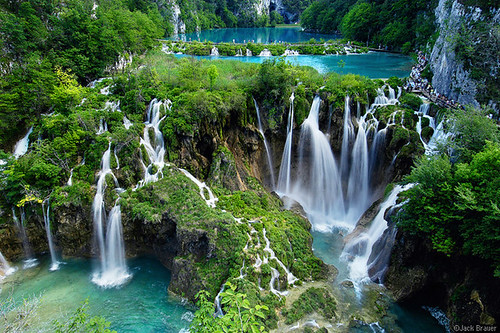 Plitvice Waterfalls by mpancha