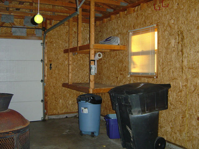Garage in first house before we bought it