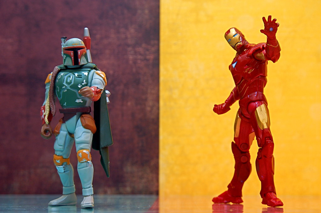 Boba Fett vs. Iron Man (133/365)