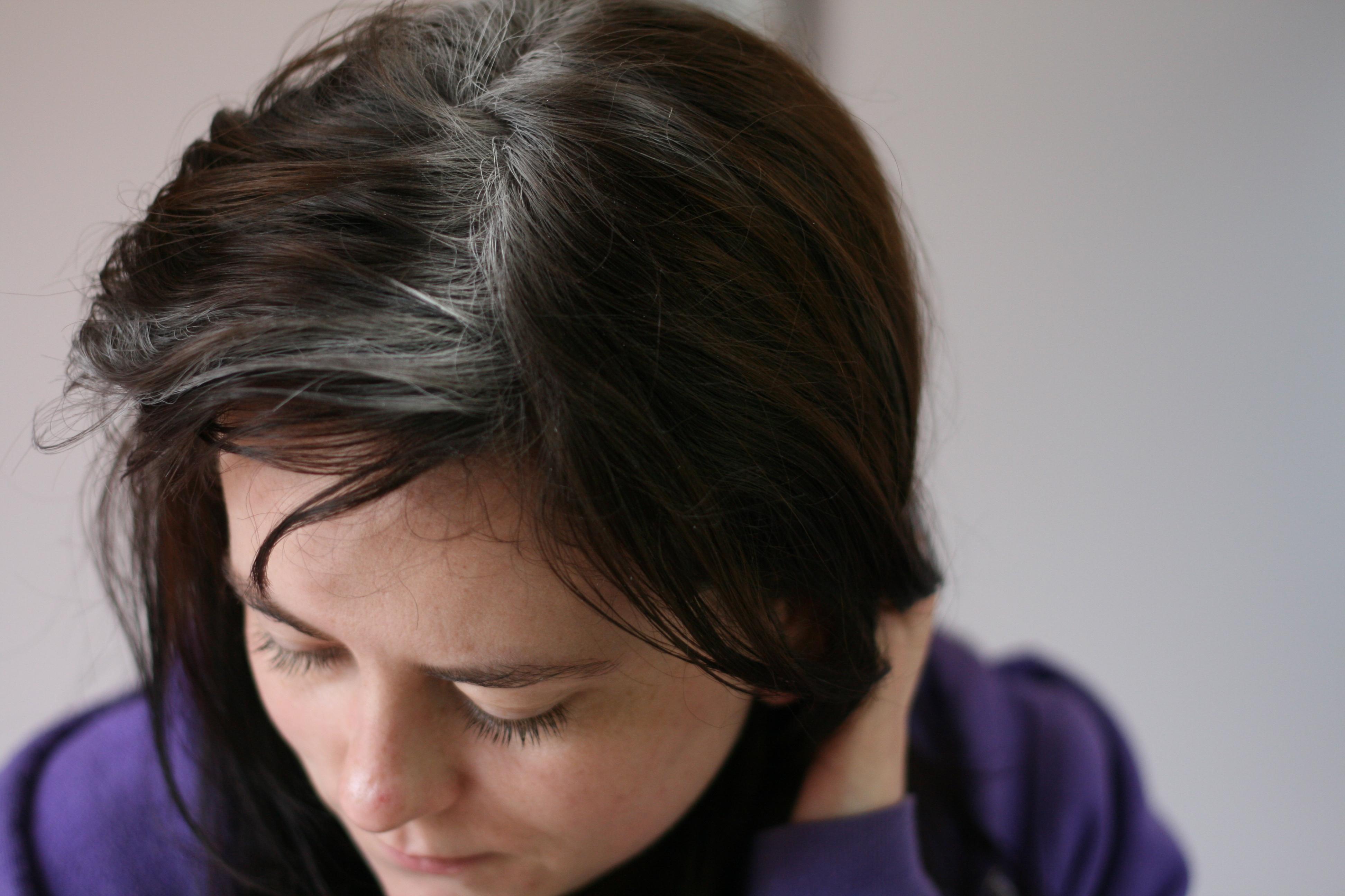 włosy - suchy szampon