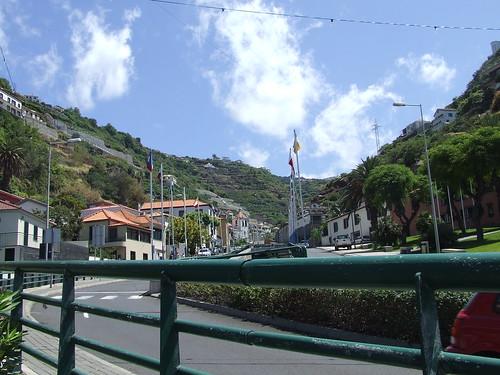 Madeira - Calhetta - Looking Towards The Sugar Refinery