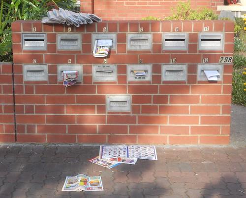 Junk Mail Mess