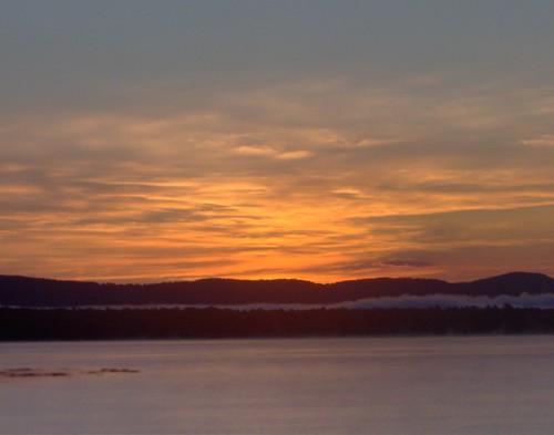 sunrise newhampshire lakeossippe