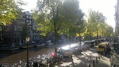 Sunshine over Amsterdam