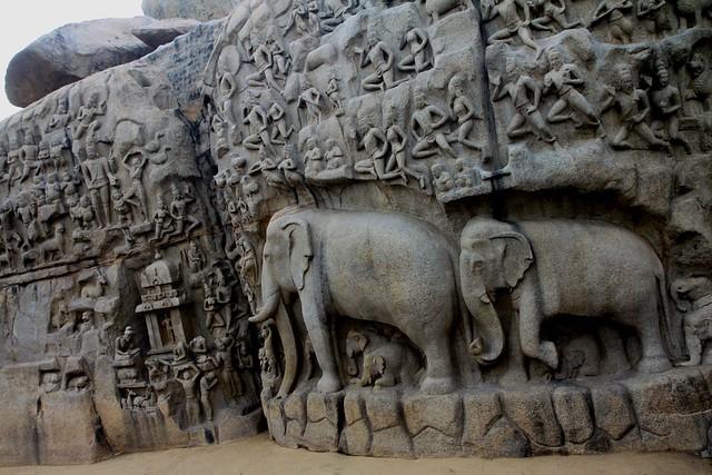 mamallapuram Arjuna's Penance
