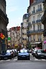 <p>Straße in Nantes, Frankreich<br /> ___<br /> Street in Nantes, France</p>