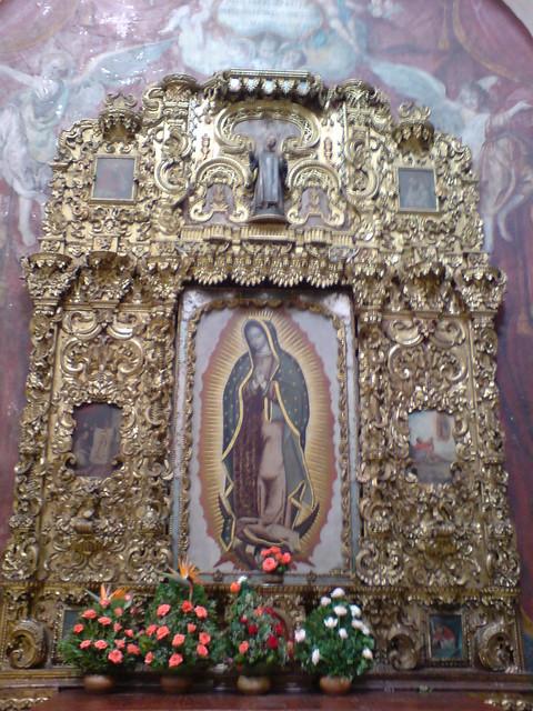 Retablo de la Virgen de Guadalupe, La Merced de la Ciudad de Guatemala
