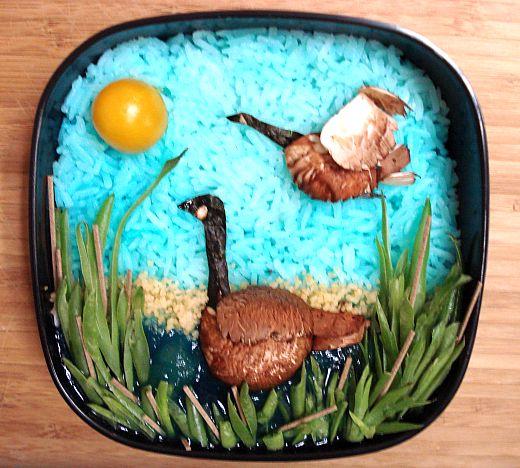goose bento 1