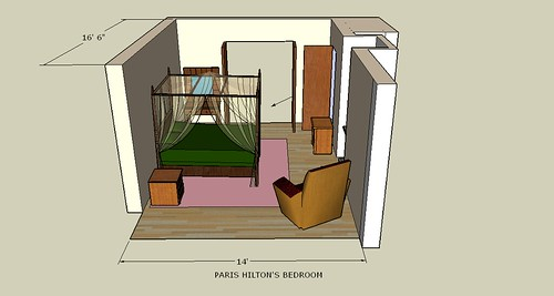 paris hilton 39 s bedroom isometric flickr photo sharing